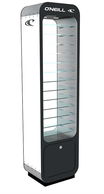 O'neill Case Sunglass display