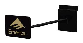 Rich LTD EM SW Hook-Single slatwall display