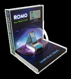 ROMO acrylic toy display
