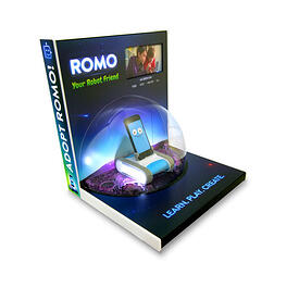 ROMO TOY ROBOT TABLE TOP DISPLAY