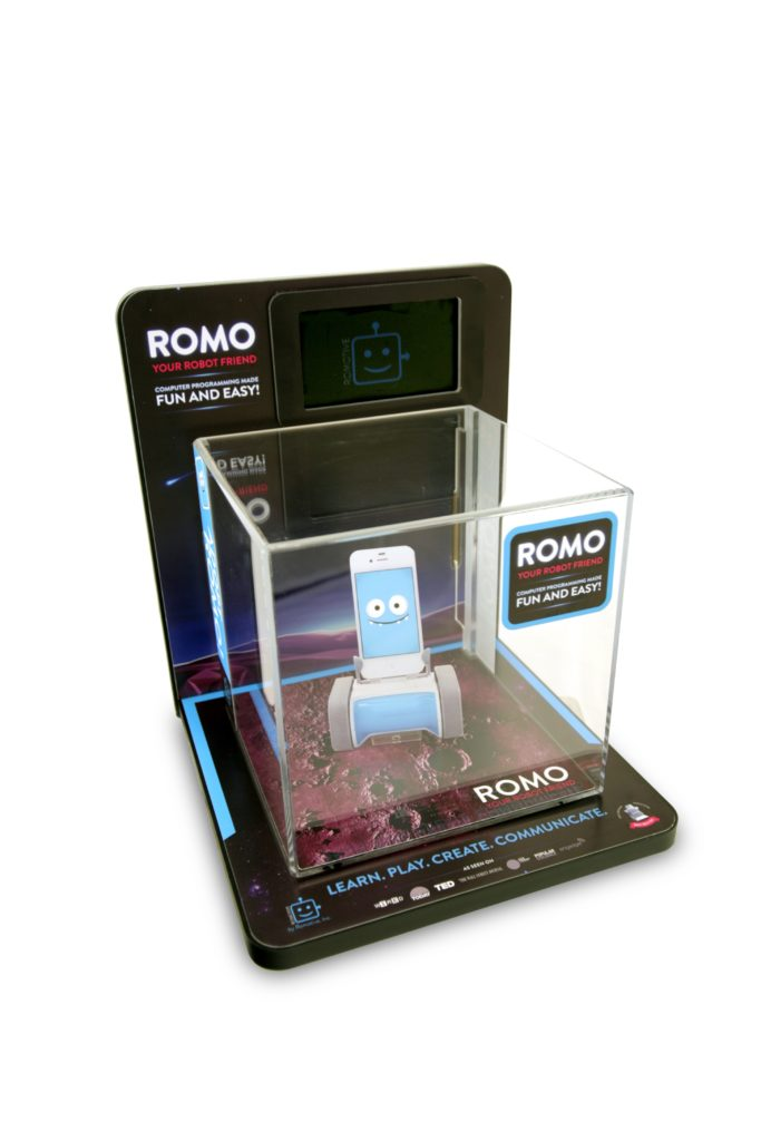 ROMO SQUARE Point of purchase design