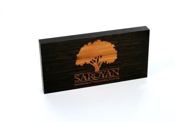 SAROYAN Company Logo Block