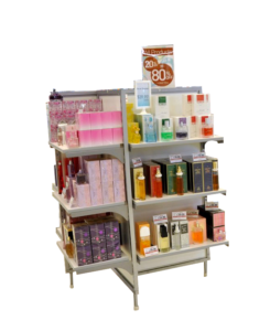 STORE FIXTURE LINE PINWHEEL SHELF DISPLAY