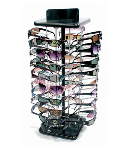 counter top wire sunglass display