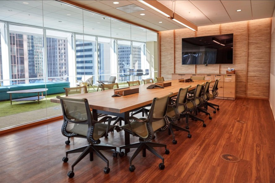 Salesforce Tower Conference store environments