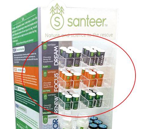 Santeer CBD Displays