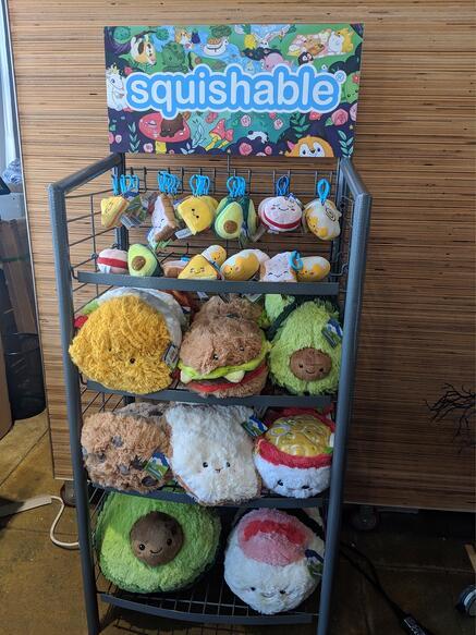 Squsishable FX-24 POP Displays