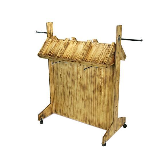 Sustain U wood displays