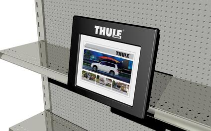 THULE point of purchase displays