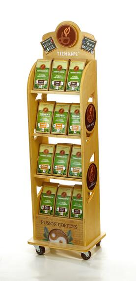 TIEMANS Wood Displays