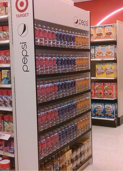 Target Endcapper Custom Retail Displays