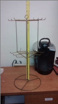 Wire Spinning Rack Counter Display