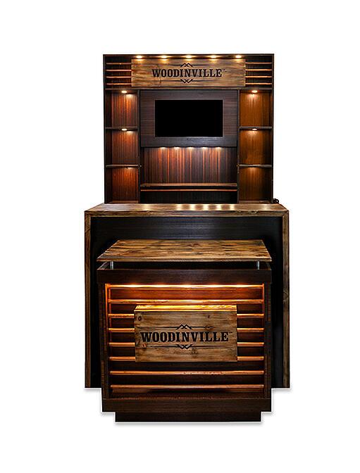 WoodinVille POP Display