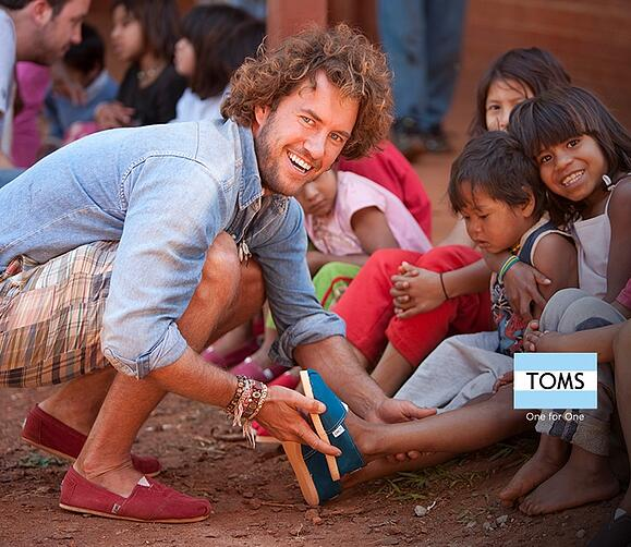 Merchandising Solutions by branding | Toms shoes