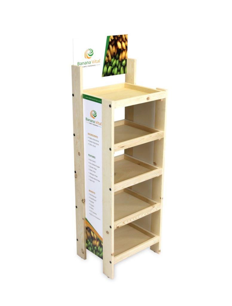 bananavital Wood Displays