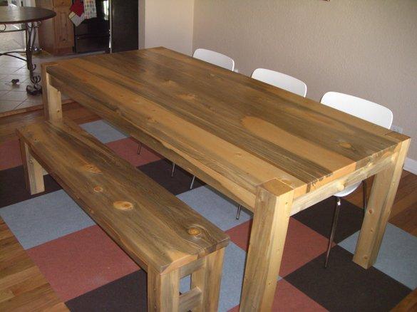 beetle-kill-pine-picnic-table-display