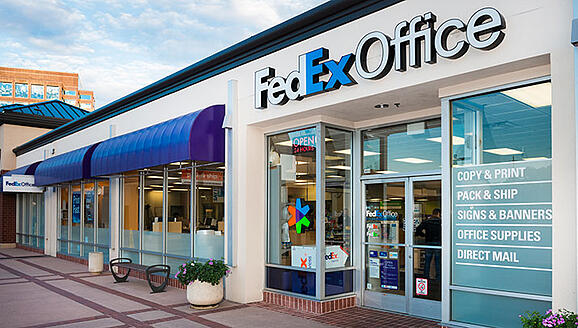 fed-ex office point of purchase displays