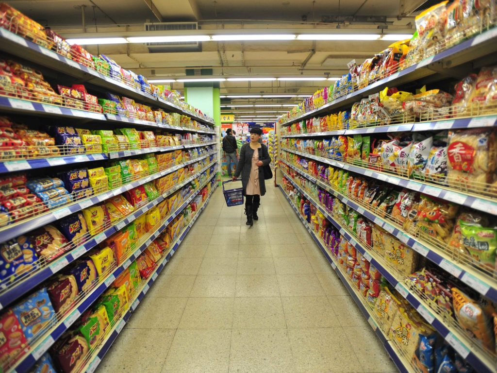 grocery store shelves could soon watch while you shop POP displays