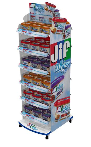 jif Custom POP Displays