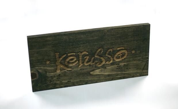 kerruso Wooden Sign - Laser Engraved
