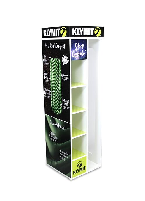 klymit full panel side Wood Displays