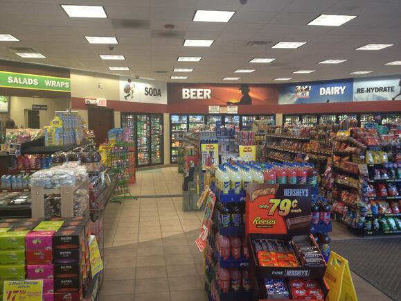 Convenience store fixtures layout - Custom Design Retail Displays