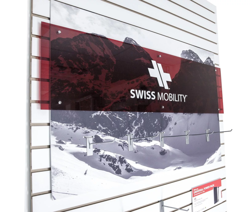 swiss acrylic displays