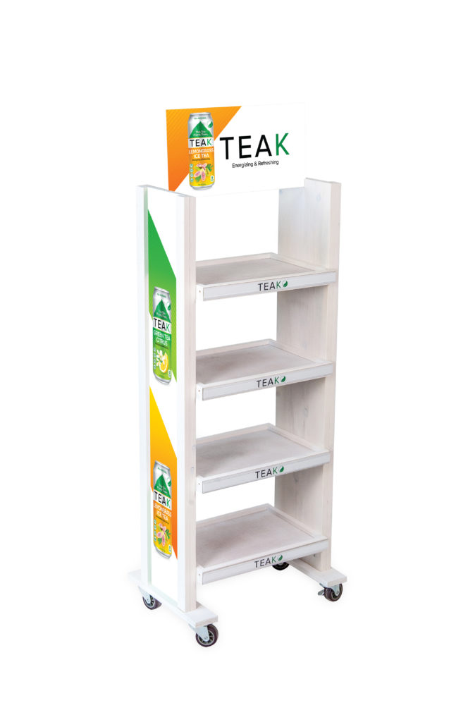 teaktea retail wood displays