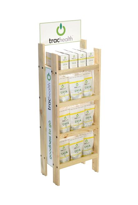 trachealth wood display