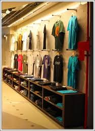 wall hanging T shirt Display